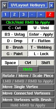 headus uv layout mac